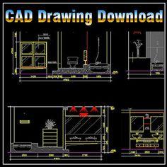 ★【Interior Design 2D Blocks】-CAD Library   AutoCAD Blocks   AutoCAD Symbols   CAD Drawings   Architecture Details│Landscape Details