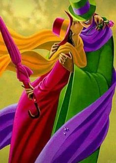 الوان وبهجة وسعادة Claude, Umbrellas, Rainbow Colors, Vivid Colors, True  Colors, e831b300e90