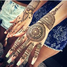 Maple mehendi
