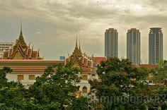 Bangkok ciudad de contrastes.