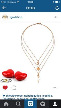 iGoldshop.com #liebeskette #halskette #gold #jewelry #accessories