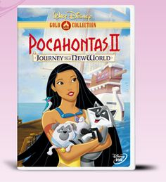The strong-willed Pocahontas encounters a new world in England in the Pocahontas 2 movie. Watch Pocahontas discovers the path to her future in the Pocahontas 2 DVD. Disney Dvd, Walt Disney Movies, Disney Movies To Watch, Film Disney, Disney Animated Movies, Disney Wiki, Pixar Movies, Cartoon Movies, Pocahontas 2