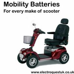 Have you tried our mobility battery finder?https://electroquestuk.com/mobility-battery-finder You may be eligible for zero VAT too!