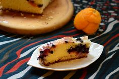 Blueberry orange kuchen: a german cake recipe that's perfect for Christmas