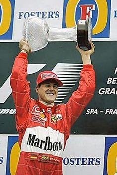 Piloto Michael Schumacher, Ferrari Belgium 2002