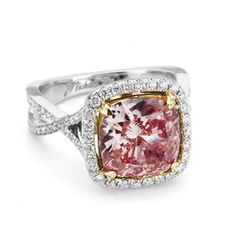 Brides: Pink Engagement Rings: Get the Look | Engagement Rings | Brides.com
