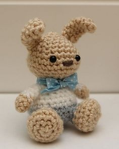 Amigurumi Bunny Rabbit - free crochet pattern by Little Muggles