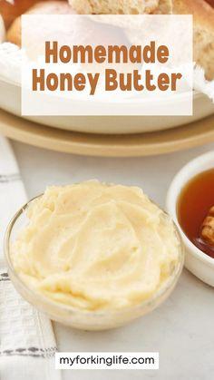 Dip Recipes, Quick Recipes, Baking Recipes, Icing Recipe, Butter Recipe, Good Food, Yummy Food, Honey Butter, Secret Recipe