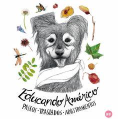 Los paseos perrunos más divertidos del norte del Gran Buenos Aires son con el pequeño gran Américo y Coty.   Además ofrecen adiestramien...