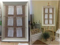 DIY: Tablica z rozmieszczeniem gości weselenych | Od inspiracji do realizacji...