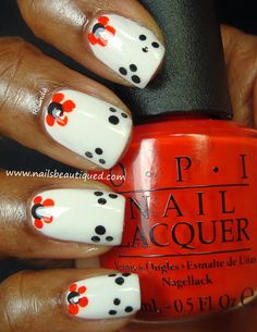 Paws and Flowers | Nails Beautiqued