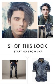 """""""Ootd : Jacob"""" by believe-in-you-always ❤ liked on Polyvore featuring Jack & Jones, men's fashion and menswear"""
