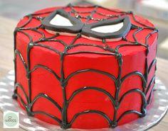 El hombre araña ha pasado por #Wooca con superpoderes muy dulces. #TartasCumpleaños #TartasPersonalizadas #LasRozas