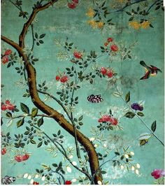 Beautiful Chinese Wallpaper from V & A