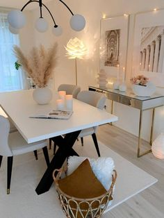 Home Office Design, Home Office Decor, Home Interior Design, House Design, Office Desk, Interior Design Inspiration, Home Living Room, Living Room Decor, Bedroom Decor