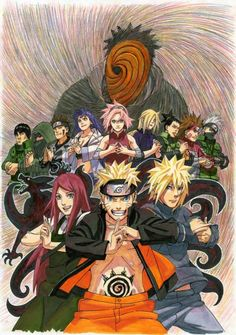 Superbe dessin de Naruto !!