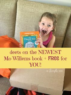 It's the last from #MoWillems!! :( The Thank You Book Giveaway #ad #thankorama