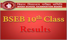 BSEB 10th Class Result 2017, Bihar Board going to released 10th Class result…