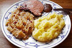 Sauerkraut auf westfälische Art