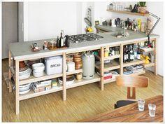Offenes Regal Küche U2013 Home Interior Referenz
