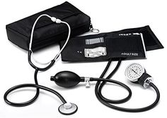 Prestige Medical Basic Aneroid Sphygmomanometer Single Head Kit Black ** For more information, visit image link.