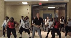 dance party - uptown funk teacher rocks it