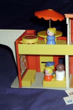 Fisher Price Little People Movie Theater.