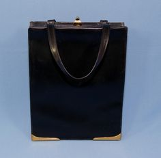04a2e6fb50f Vintage 1950 s Black Dofan Handbag