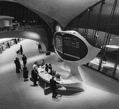 not exactly a home...but so cool! TWA terminal NY by Eero Saarinen