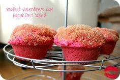 Pink doughnut muffins!