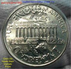coins to watch for/lincoln cents w/errors - Yahoo Image Search Results Us Coins, Rare Coins, Rare Pennies, Valuable Coins, Coins Worth Money, Coin Shop, American Coins, Coin Worth, Error Coins
