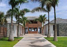 fancy caribbean villa