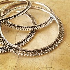 OFF Silver Indian Bangle Rajasthani Bangle Tribal Sterling Necklaces, Sterling Silver Pendants, 925 Silver, Tribal Bracelets, Bangle Bracelets, Tribal Jewelry, Brass Jewelry, Jewelery, Jewelry Box