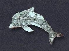34 new Ideas for origami paper fish dollar bills Origami Star Paper, Origami Car, Origami Bowl, Origami Fish, Oragami, Origami Templates, Money Origami Tutorial, Dollar Bill Origami, Dollar Bills