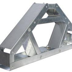 LeeFrame staalframebouw Prefab Buildings, Prefabricated Houses, Steel Trusses, Roof Trusses, Steel Frame House, Steel House, Steel Structure Buildings, Metal Buildings, Metal Stud Framing