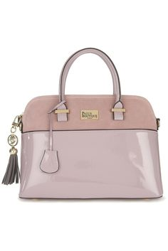Visit Paul's Boutique's new handbag collection. Take your pick from classic beige and black patent bags to eye-catching prints and vibrant neon shades. Nude Bags, Paul's Boutique, New Handbags, City Chic, Hermes Kelly, Purple, Lilac, Purses And Bags, Fashion Accessories