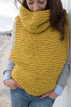 Sweater Knitting Patterns, Knit Patterns, Free Knitting, Baby Knitting, Finger Knitting, Crochet Jumper, Knitted Poncho, Knit Crochet, Cozy Knit