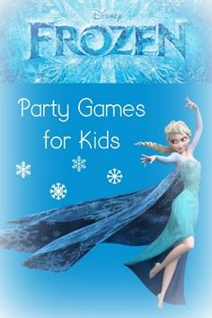 These fun Disney Frozen party games for kids are sure to make you the hit of the playground! Perfect for all seasons with variations for winter!