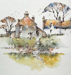 The Watercolour Log: Watercolour Paintings 66