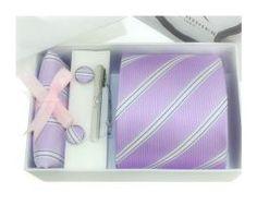 Luxusná kravatová súprava - http://www.luxusne-doplnky.eu