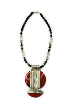 Tuareg necklace #DallasMarket #Folkartfan