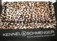 * * * KENNEL & SCHMENGER Fell-Clutch * * * Clutch, Animal Print Rug, Ebay, Clothing Accessories
