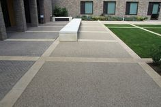 Porous resin bound driveway