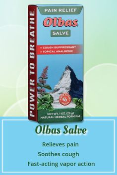 SALVE is penetrating, long-lasting relief for backache, and sore muscles. Rub on chest to allow its soothing vapor action to help relieve Cough Relief, Sinus Relief, Pain Relief, Herb Co, Kids Cough, Clove Essential Oil, How To Get Sleep, Sore Muscles, Herbal Remedies