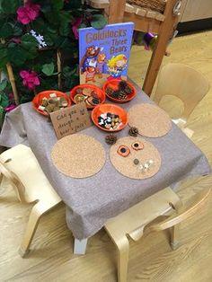 Fairy Tale Activities, Eyfs Activities, Nursery Activities, Traditional Tales, Traditional Stories, Bear Crafts Preschool, Preschool Rooms, Fairy Tales Unit, Funky Fingers