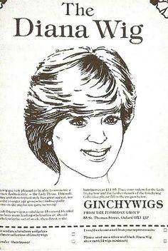 80s Diana Wig