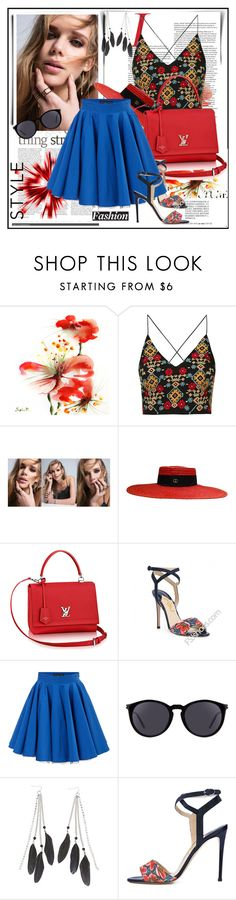 """""""Summer Pastels"""" by lila2510 ❤ liked on Polyvore featuring Topshop, Amorium, Gucci, Philipp Plein, Yves Saint Laurent and Charlotte Russe"""