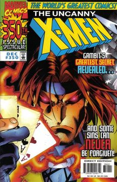 Cover for The Uncanny X-Men (Marvel, 1981 series) #350 [Enhanced Edition]