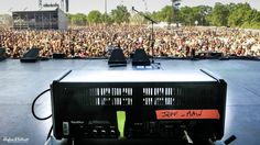 Annihilator at Hellfest 2014 with the Hughes & Kettner GrandMeister - this one is Jeff Waters' main amp, hence the name!