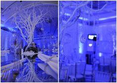 Fire & Ice Bat Mitzvah Party, New York | Winter Wonderland Theme | Mazelmoments.com